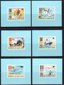 Burkina Faso (1974) #332-4, C189-91 Deluxe MNH