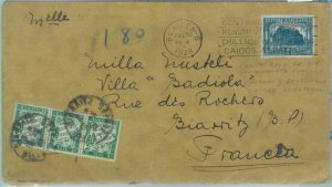 85968 - ARGENTINA - POSTAL HISTORY -  COVER to FRANCE Taxed on arrival 1928