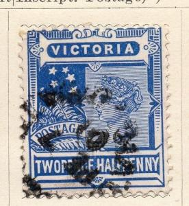 Australia; Victoria 1901-06 Early Issue Fine Used 2.5d. 059732