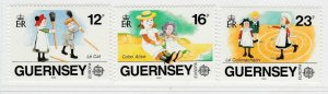 Guernsey 1989 Europa Children's Toys and Games MNH** Full Set A19P22F3