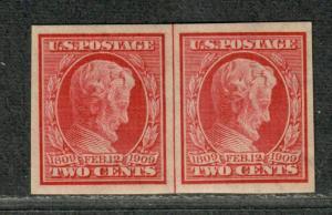 US Sc#368 M/NH/VF, Imperf Line Pair, Cv. $57.50