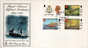Isle of Man, First Day Cover, Ships