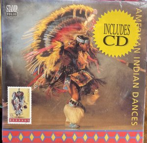 US Stamp Folio American Indian Dances & CD 3072-6 5 designs
