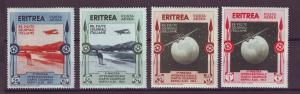 J21249 Jlstamps 1934 eritrea part of set mh #c1-2,c4-5 airplanes