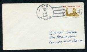 US THOMASTON 03/07/60 TO COLUMBIA, SC AS SHOWN (38)