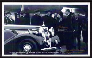 Alderney 184 Queen Elizabeth II Souvenir Sheet MNH VF