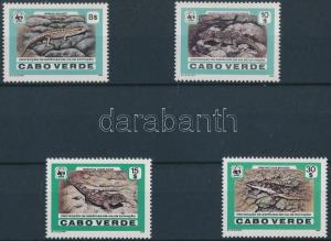 Cap Verde stamp WWF Lizards set MNH 1986 Mi 500-503 WS174390