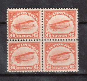 USA #C1 VF/NH Block Variety With Center Line