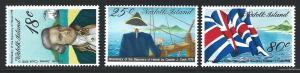 Norfolk Island    MNH sc  222 - 224