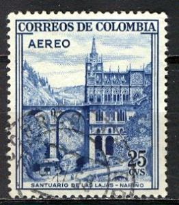 Colombia; 1958: Sc. # C307: O/Used Single Stamp