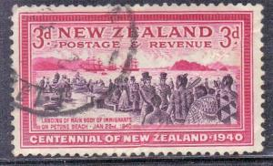NEW ZEALAND SC# 234  USED  SETTLERS SEE SCAN