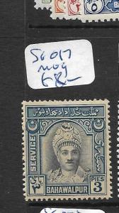 PAKISTAN (P2502B)  BAHAWALPUR SG O17   MOG