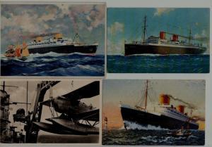 Germany 4 unused Catapult postcards