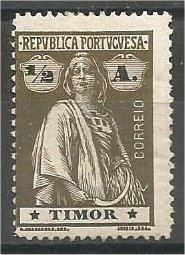 TIMOR, 1914, MH 1/2a, Ceres. Scott 156