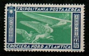 Tripolitania Scott C27 Mint NH (Catalog Value $50.00)