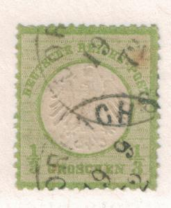 Germany Stamp Scott #2, Used, Partial Town Cancel - Free U.S. Shipping, Free ...