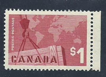 Canada  411  Mint NH VF   PD 1963