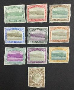 MOMEN: DOMINICA SG #27-36 1903-07 MINT OG H £250 LOT #62126