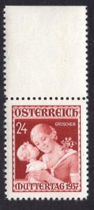 Austria  #381   1937  MNH mother`s day