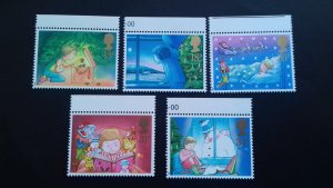 Great Britain 1987 Christmas Stamps Mint
