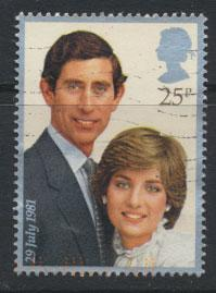 Great Britain SG 1161 - Used - Royal Wedding