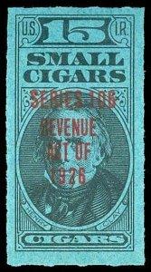 U.S. REV. TAXPAIDS-CIGAR TD54a  Mint (ID # 86950)