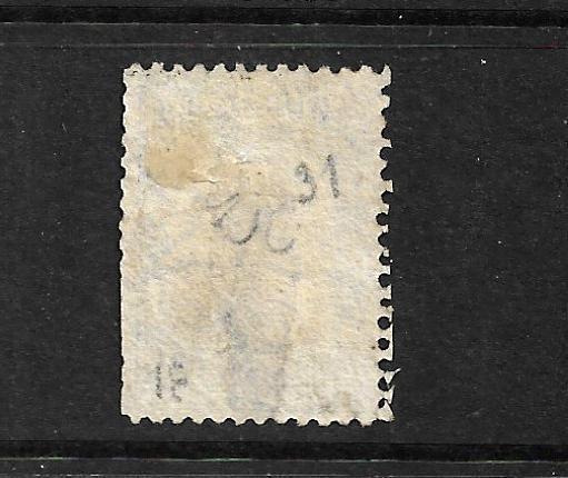 NEW ZEALAND 1864-67  2d  BLUE   FFQ  MLH  P12 1/2   CP A2M   SG 113 CHALON