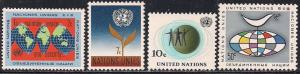 United Nations 125-128 MNH - Definitives