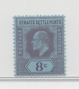 Malaya Straits Settlements - 1902-03 - SG114 - 8c - MH #707