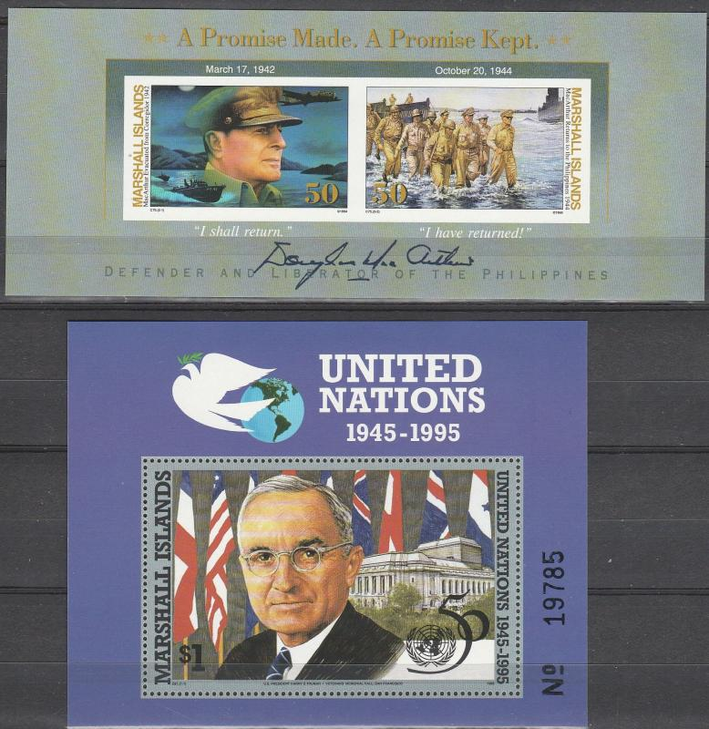 Marshall Islands #562-3  MNH CV $4.00 (A13061L)