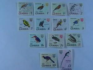 GAMBIA # 215-227-MINT/NEVER HINGED-COMPLETE SET----QEII----1966