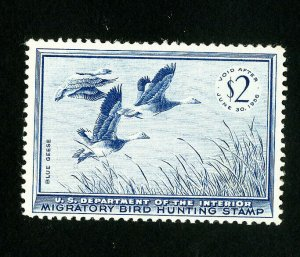 US Stamps # RW22 VF OG NH Fresh Catalog Value $85.00