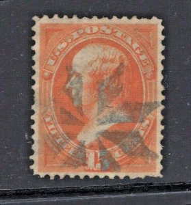 #152 Used Fancy Rosette Cancel  (JH 6/8)