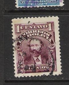 BOLIVIA 70 VFU 1056B