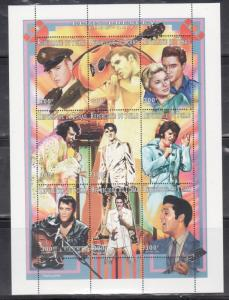 Chad 711A Elvis Presley Mint NH