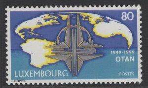 LUXEMBOURG SG1496 1999 NORTH ATLANTIC TREATY ORGANIZATION MNH