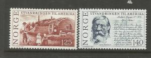 NORWAY, 658-659, H, HUT SETTLERS, PEERSON LETTER