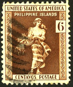 PHILIPPINES #385 USED