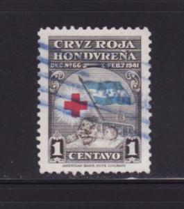 Honduras RA3 Set U Red Cross (E)