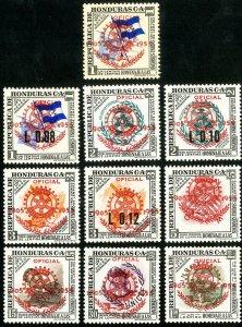 Honduras Stamps # C231-7 MNH VF