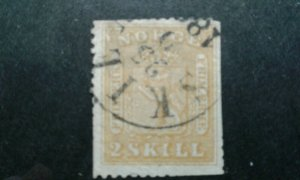 Norway #6 used trimmed e203 7522