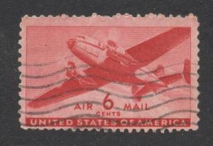 U.S. #C25 Carmine - Used