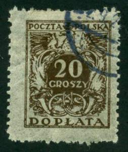 Poland 1924 # J74 U SCV(2014)=$0.25