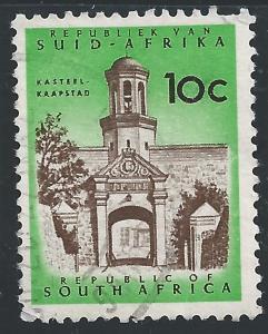 South Africa #262 10c Castle Entrance - Cape Town