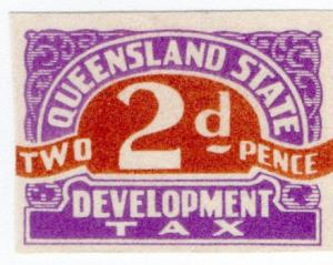 (I.B) Australia - Queensland Revenue : Development Tax 2d (proof)