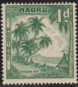 Nauru 40 Anibare Bay 1954