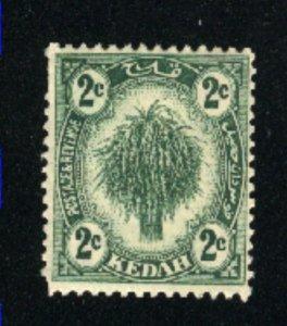 Malaya Kedah #25  M NH 1921-36 PD