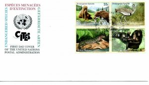 UN NY FDC #776a Endangered Species (3868)