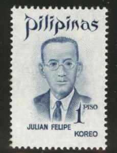 Philippines Scott 1137 MNH** stamp 1972