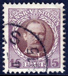 Danish West Indies (DWI) - Scott #45 - Used - SCV $4.50
